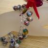 A charming paper bead bracelet