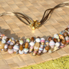 """""""Down to Earth"""" Paper Bead Necklace"""