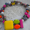 In the Mood for Mod Paper Bead Necklace-Softflex Giveaway!