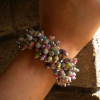 Cha-Cha Bracelet in Paper Beads