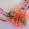 Beaded Flowers by Linda