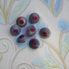 Paper Bead Buttons – day 89