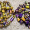 Mounted Paper Beads