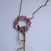 Flower Wreath Pendant – #305