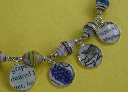 Paper Beads Story Bracelet
