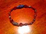 Paper Bead Bracelet by Deina
