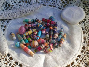 Paper Bead Trade Beads
