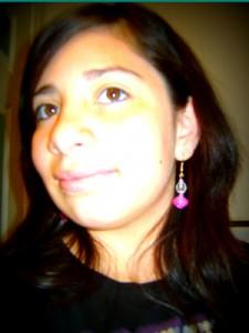 Paper Bead Earrings by Liz
