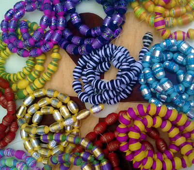 Gift Wrapping Paper Beads