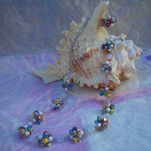 Paper Bead Clusters Set