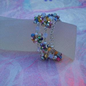 Paper Bead Clusters Set