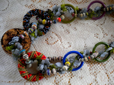 Boho Fashion Tutorial on Boho Chic   Paper Beads   Jewelry