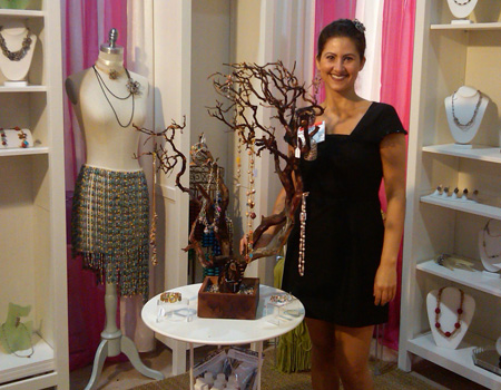 Kathleen Mito at the California Gift Show