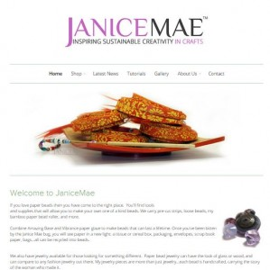janicemae_website_snapshot